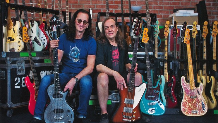 Geddy Lee to Showcase Bass Guitar Collection with New Book
