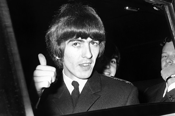 George Harrison's Cavern Club Guitar Could Sell for $500,000